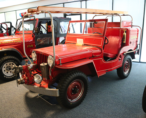 Willys Fc 170 >> 1947 Willys CJ-2A Fire Truck | Jeep Collection