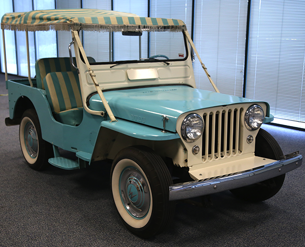 1960 Willys Dj 3a Surrey Jeep Collection