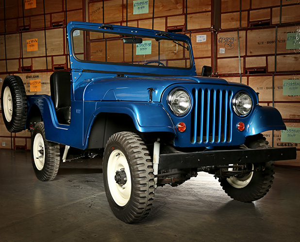 1955 Willys Cj 5 Coker Jeep Collection