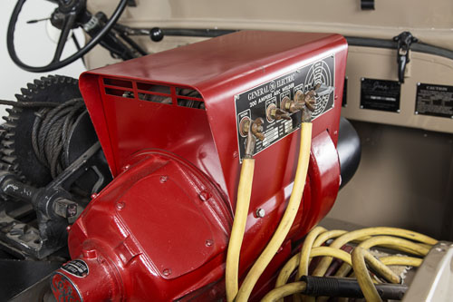 1946 willys cj 2a jeep collection on 1946 willys jeep wiring diagram for in welding circles, this ge electric arc welder is as venerated as the jeep the ge welder came in many configurations, including a kit that powered it from at Classic Jeep